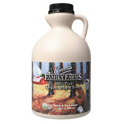 COOMBS FAMILY FARMS Organic Maple Syrup 946ml Grade A