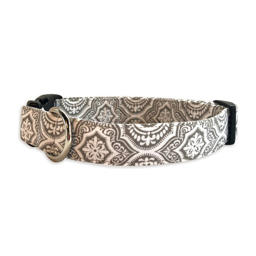 Gray Moroccan Dog Collar