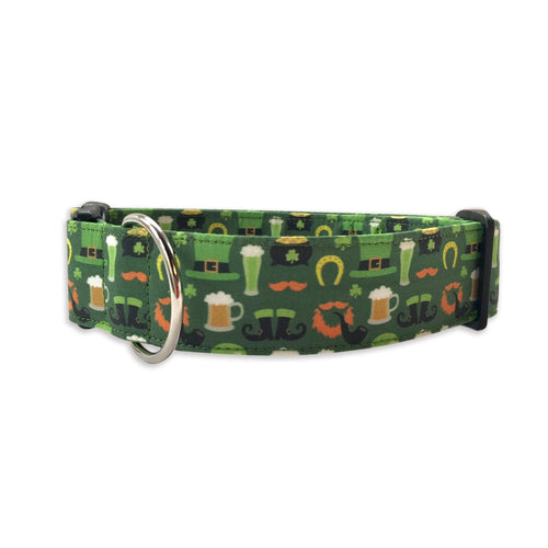 St. Patricks Beers & Beards Collar