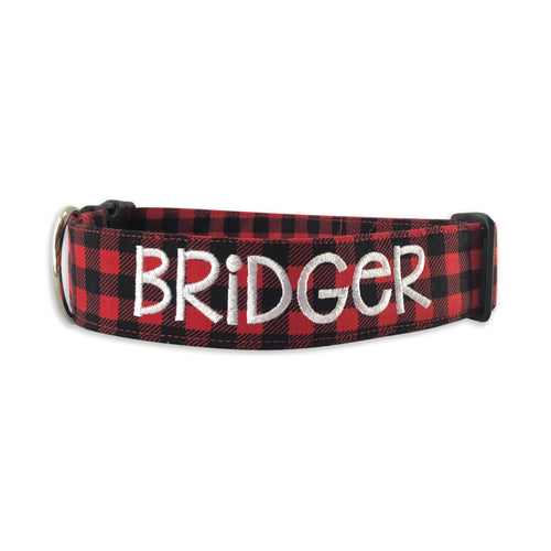 Buffalo Plaid Christmas Collar