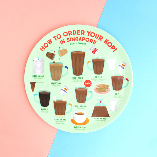 10 Inch Plate – How to order your Kopi