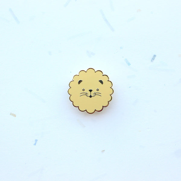 Dröm Pin – Lion Head