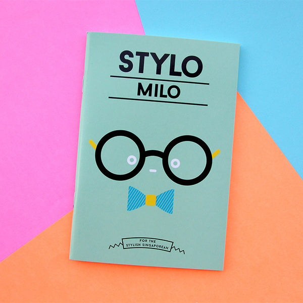 Strangely Singaporean Notebook – Stylo Milo