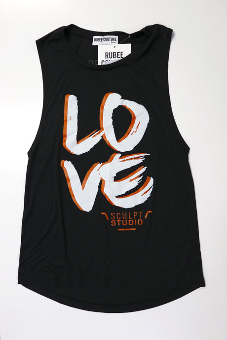 Sculpt Studio 'Love' Logo Tank