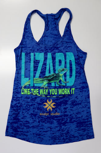 Sculpt Studio Blue Lizard Tank