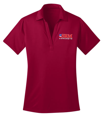 Ladies Red Silk Touch™ Performance Polo