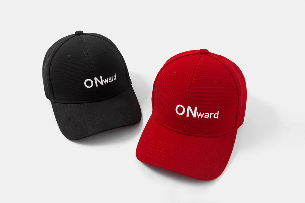 ONward Embroidery Baseball Cap (Black) - simplifybox