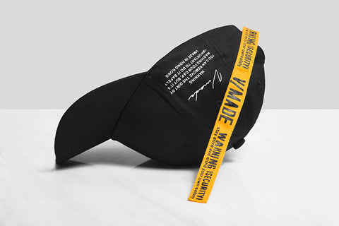 V/Made Basic Baseball Cap (Black) - simplifybox