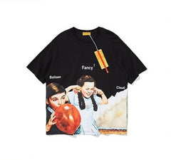 Fancy Girl Loose T-Shirts - simplifybox