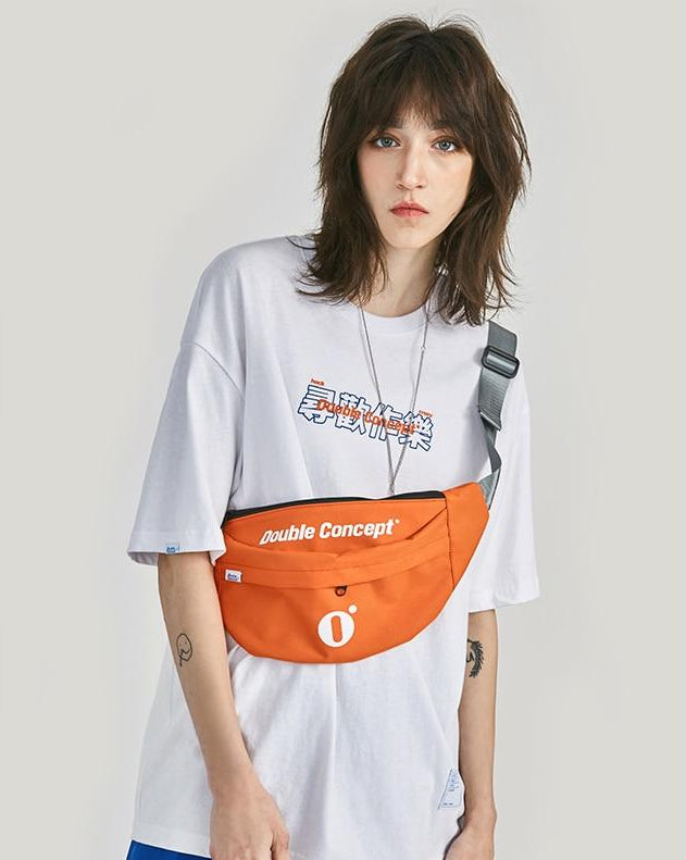 Double Concept Streetwear Waist Bag - simplifybox