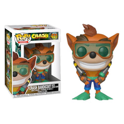 Funko POP Crash Bandicoot Buceador 421 Funatic Store Colombia