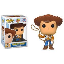 Funko POP Sheriff Woody 522 Toy Story 4 Pixar Funatic Store Colombia