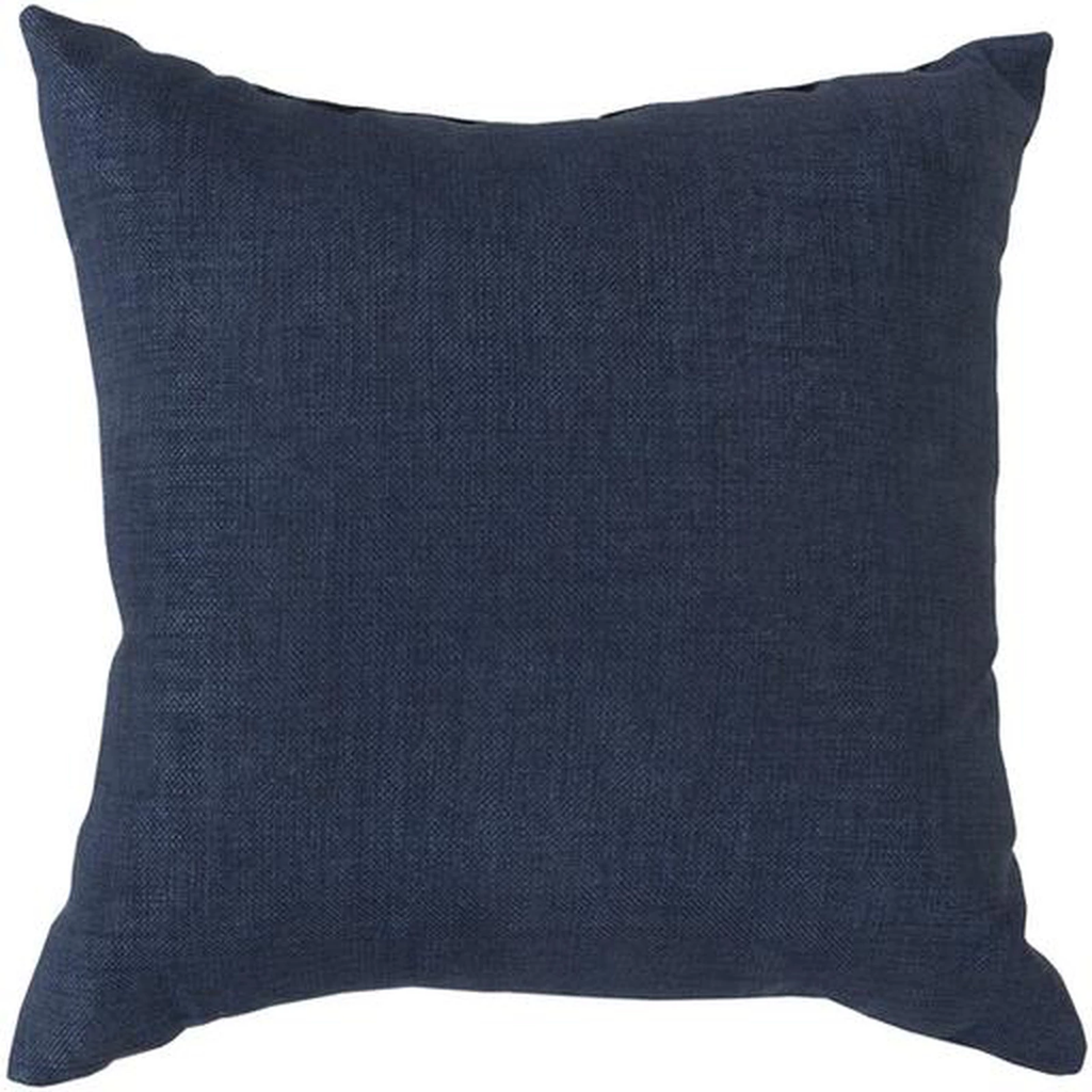 Square Down Pillow With Welt