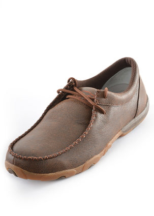 Ladies Twisted X Casual Driving Moc - Brown