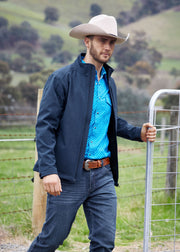 Mens Pure Western Ryland Soft Shell Jacket