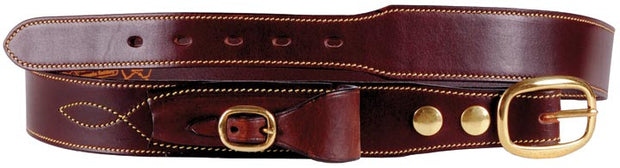 Toowoomba Saddlery Cattlemans Belt with Pouch Tapered