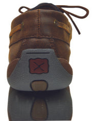 Twisted X Ladies Casual Driving Brown/ Serape Moc