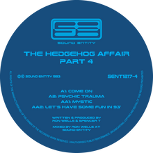 "The Hedgehog Affair Volume 1 - 5 Remastered (5 Disc 12"" Vinyl)"
