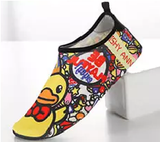 Womens Non-slip Quick-drying Beach Shoes Patterned