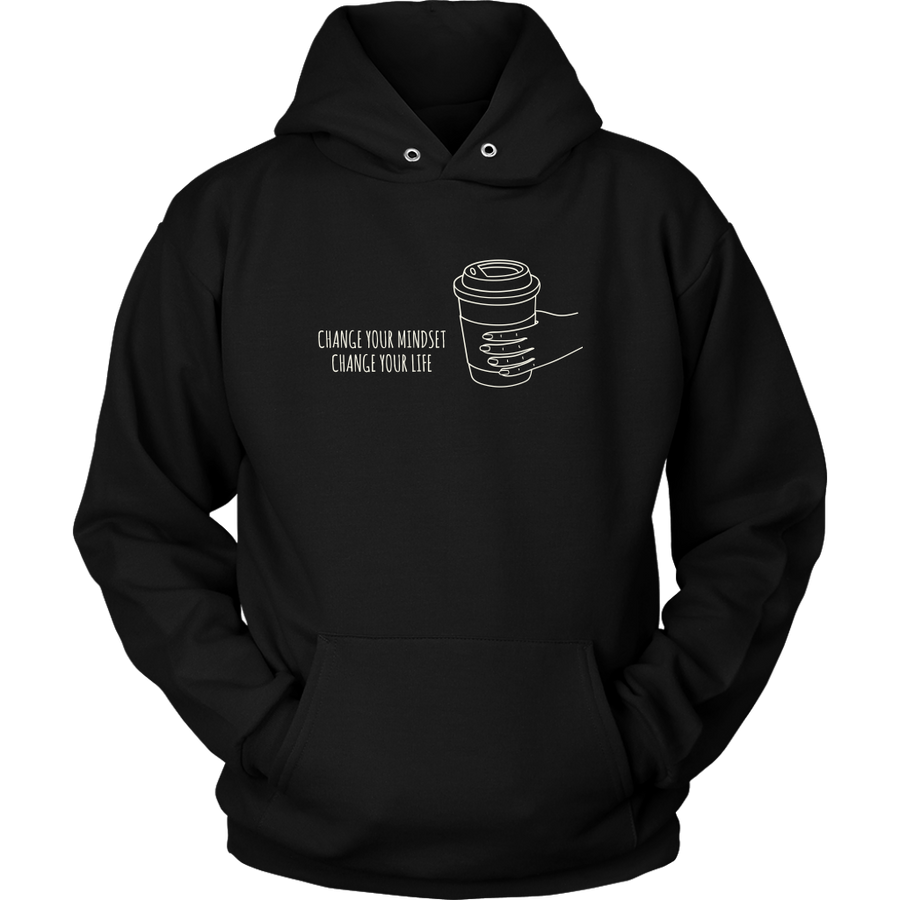 'Change your mindset, change your life' Inspiring Good Morning Quotes Hoodie