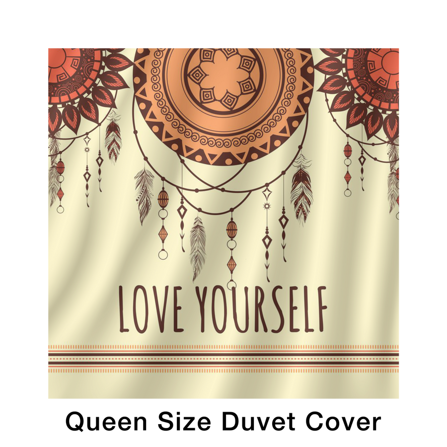 'Love yourself' Self Love Quotes Bed Set [2 Variants]