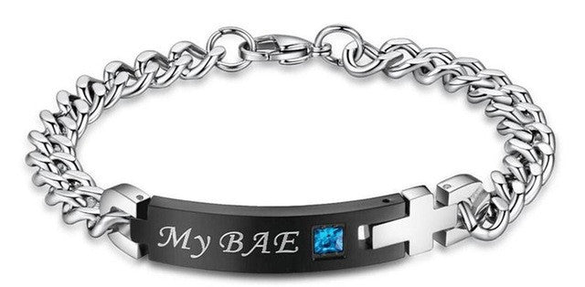 'My Bae' and 'My Boo' Couple Bracelet