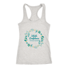 'Inhale confidence, exhale doubt' Love Yourself Quotes Next Level Racerback Tank