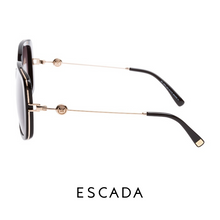 Escada Shiny Black and Gold