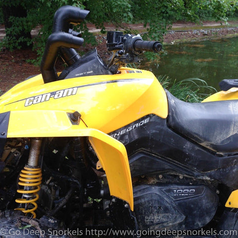 Can Am Renegade 800/1000 (2012-2018) Snorkel Kit