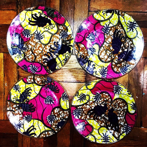 Kannu Collection: Kannu Bungo African-Inspired Dinner Plates