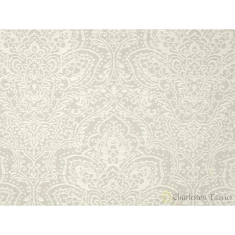 P Kaufmann Lazy Afternoon Jacquard Fog Damask Fabric