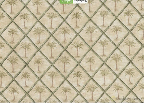 Waverly Tropical Palm Trees Fabric