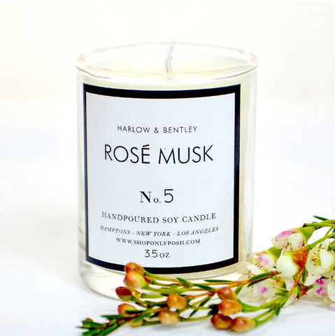 Rose Musk 3.5 oz Votive