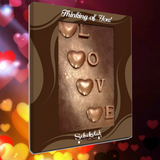 Chocolate Card - Love