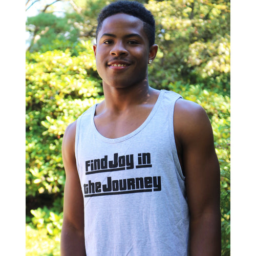 Find Joy In The Journey Men's Muscle Tank Top