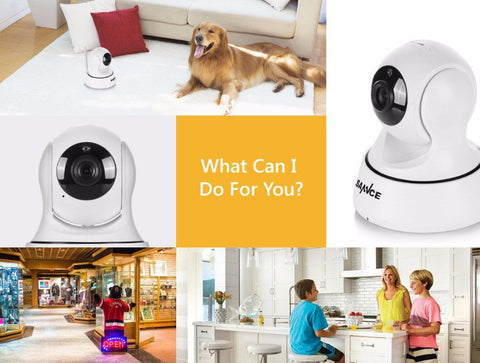 Smart Wireless 720P Safety Camera