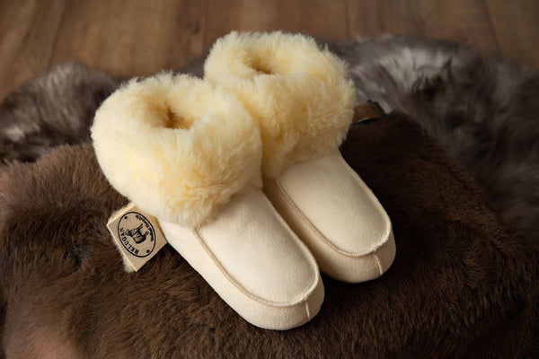Ladies Medical Sheepskin Slippers