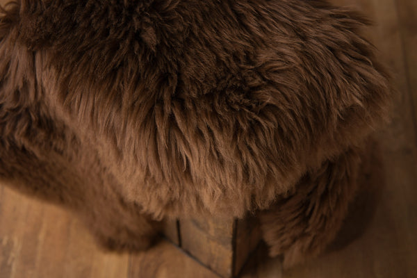 Chocolate Natural Sheepskin