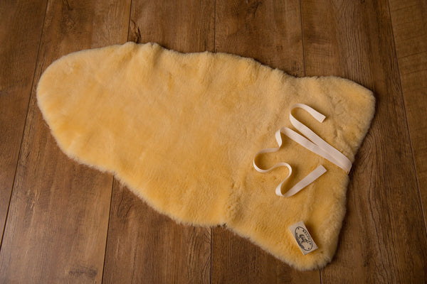 Natural Sheepskin Mat-Comforter