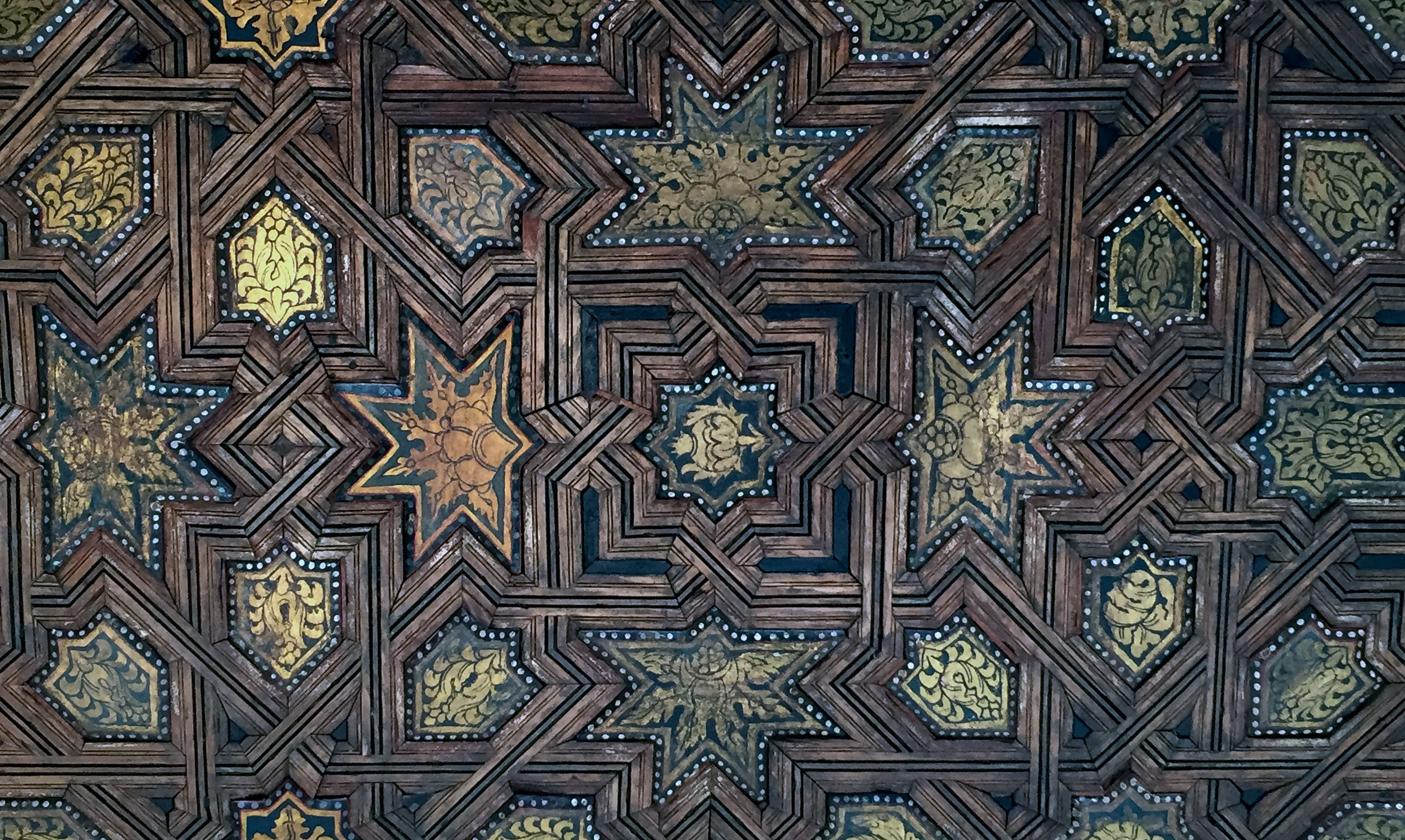 Intricate ceiling