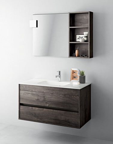 Duetto 50 Bathroom Vanity in Frassino Moro
