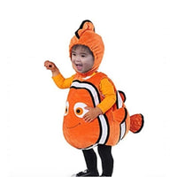 Orange Nemo Movie Halloween Fun Fish Dory Cute Costume Cosplay Cartoon
