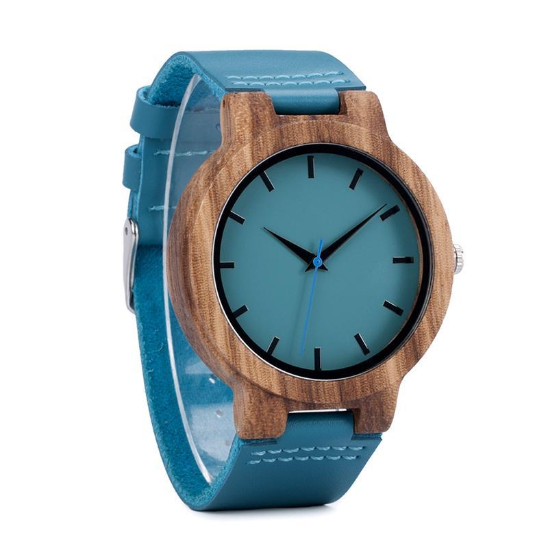 Wood Watch Material_Wood Material_Leather Material_Bamboo Japanese High Quality Gift Gender_Women Fashion