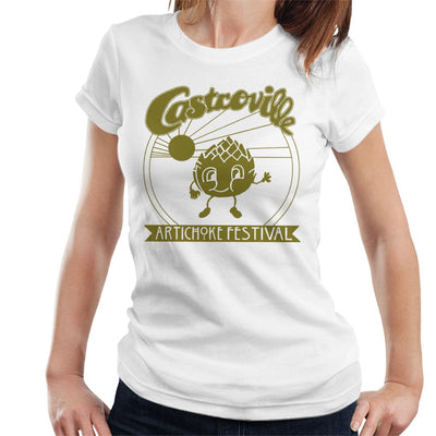 Stranger Things Castroville Artichoke Festival Women's T-Shirt - NME Merch