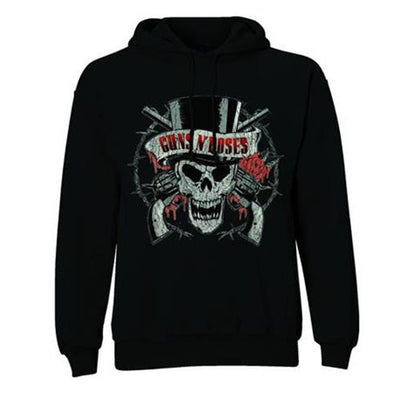 Guns N' Roses Distressed Logo Men's Hoodie - NME Merch