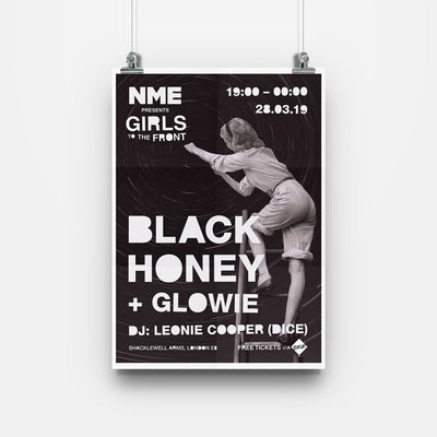 Girls To The Front: Black Honey And Glowie Poster - NME Merch