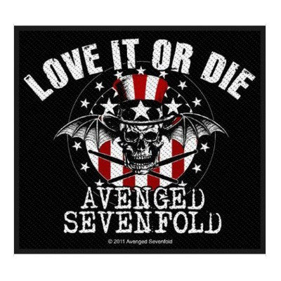 Avenged Sevenfold Love It Or Die Patch - NME Merch