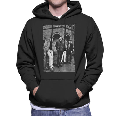 The Smiths In Manchester At Salford Lads Club 1985 Men's Hooded Sweatshirt
