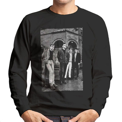 The Smiths In Manchester At Salford Lads Club 1985 Men's Sweatshirt