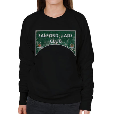 Salford Lads Club Sign Colour Women's Sweatshirt - NME Merch